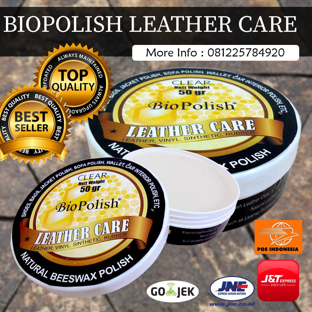 Harga Biopolish Leather Care