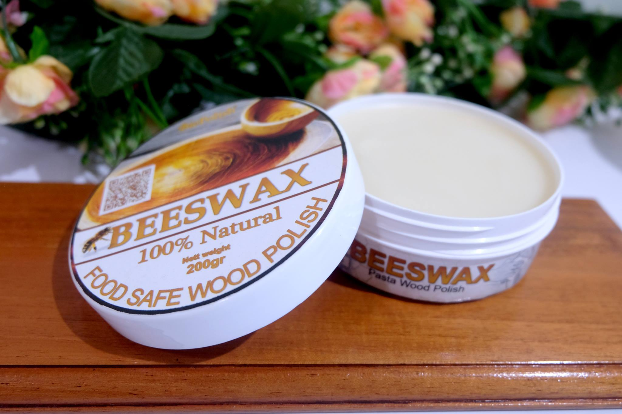 Finishing Food Grade Dengan Biopolish Beeswax