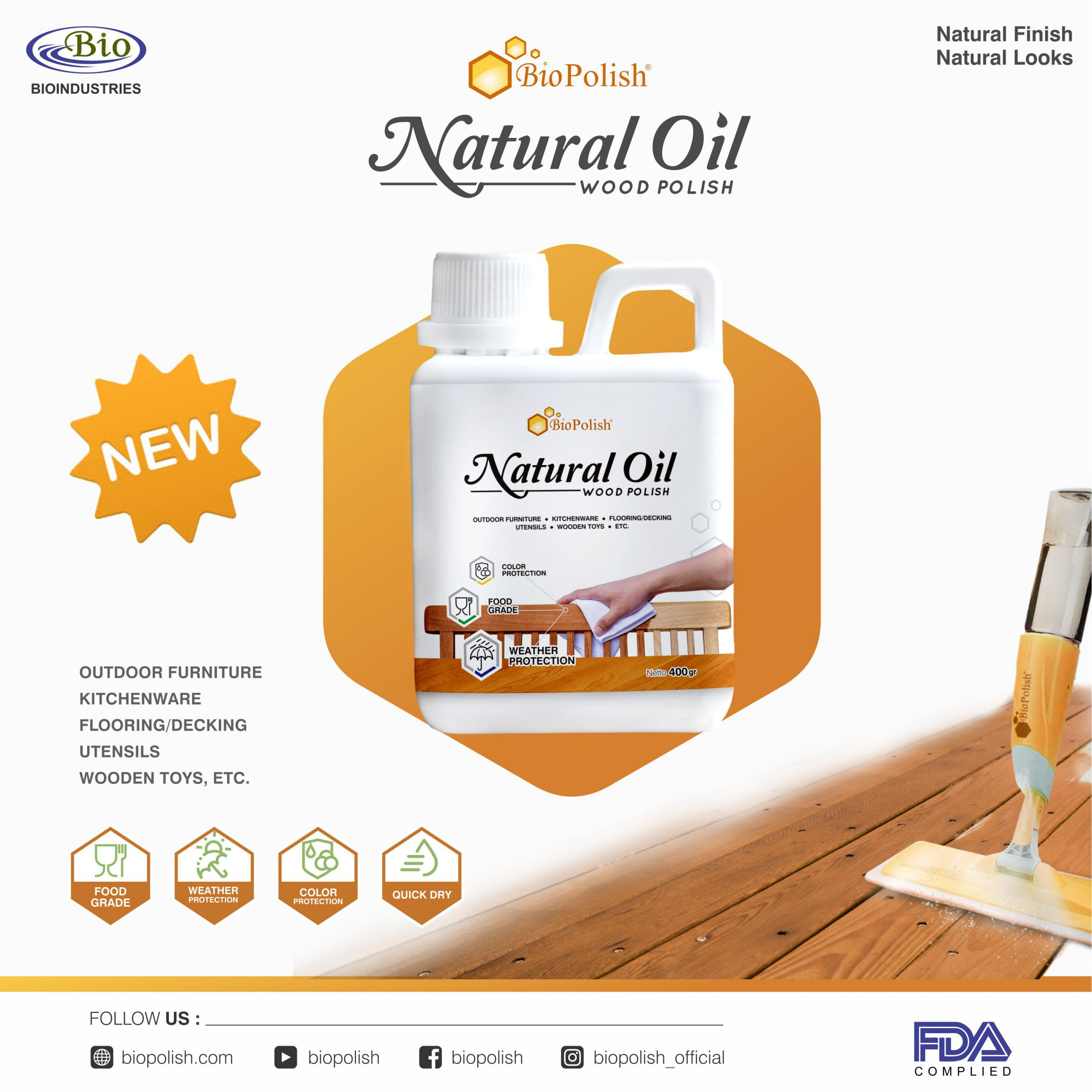 Biopolish Natural Oil